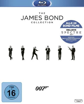 Bond Collection 2016, 25 Blu-ray