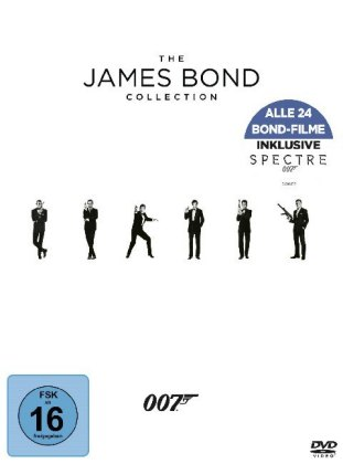 Bond Collection 2016, 24 DVD