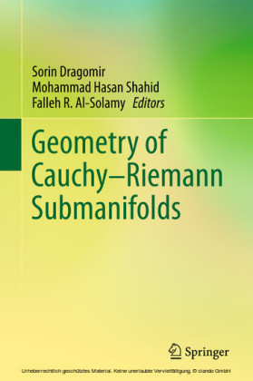 Geometry of Cauchy-Riemann Submanifolds