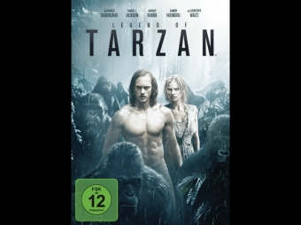Legend of Tarzan, 1 DVD