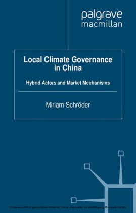 Local Climate Governance in China