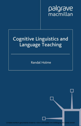 Cognitive Linguistics and Language Teaching