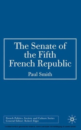 The Senate of the Fifth French Republic
