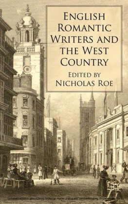 English Romantic Writers and the West Country