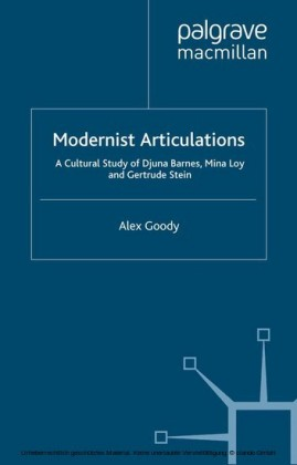 Modernist Articulations