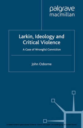Larkin, Ideology and Critical Violence