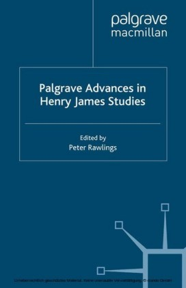 Palgrave Advances in Henry James Studies