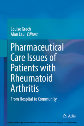 Pharmaceutical Care Issues of Patients with Rheumatoid Arthritis