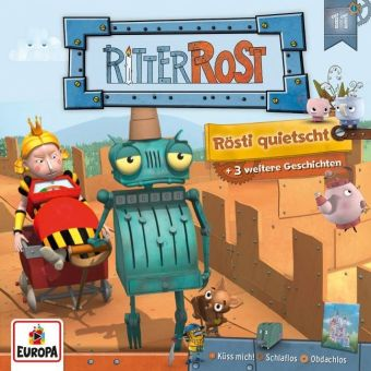 Ritter Rost Serie - Rösti quitscht, 1 Audio-CD