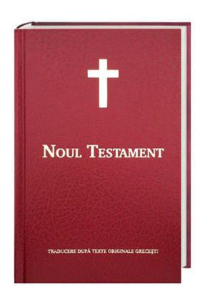 Neues Testament Rumänisch - Noul Testament, Traditionelle interkonfessionelle Übersetzung, Kunstleder rot