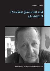 Dialektik Quantit�t und Qualit�t II