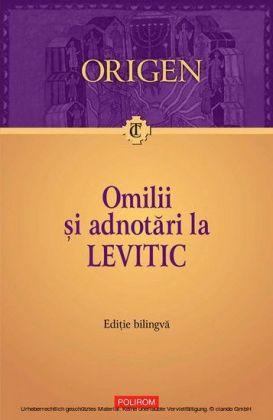 Omilii i adnotari la Levitic