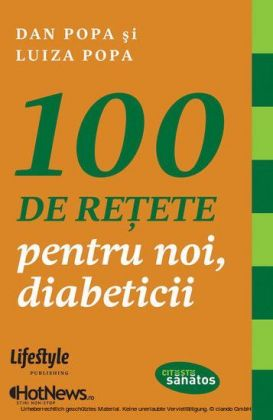100 de re ete pentru noi, diabeticii