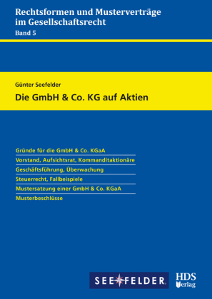 Die GmbH & Co. KG auf Aktien