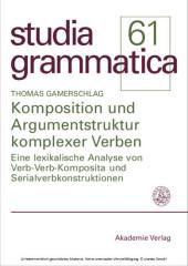 Komposition und Argumentstruktur komplexer Verben