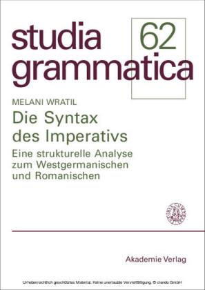 Die Syntax des Imperativs
