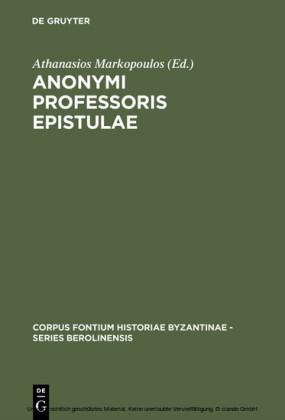 Anonymi Professoris Epistulae