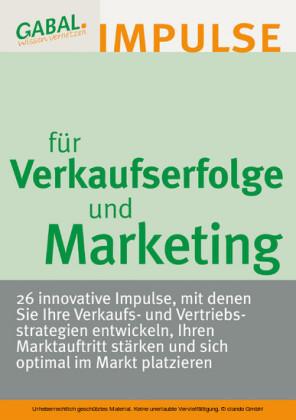 Verkaufserfolge und Marketing