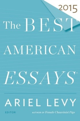 Best American Essays 2015