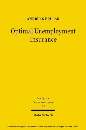 Optimal Unemployment Insurance