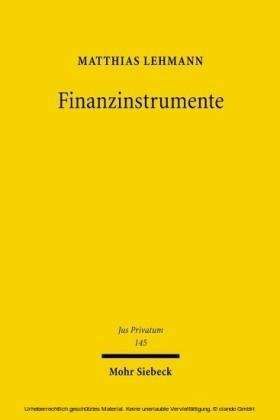 Finanzinstrumente