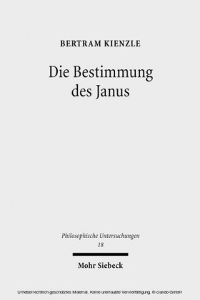 Die Bestimmung des Janus