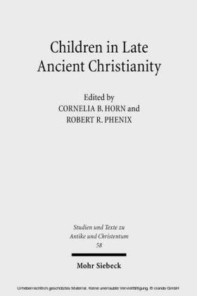 Children in Late Ancient Christianity