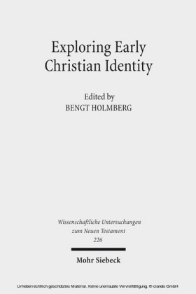 Exploring Early Christian Identity
