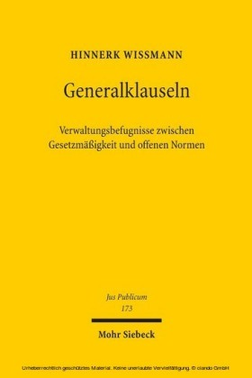 Generalklauseln