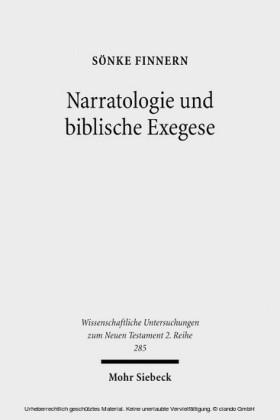 Narratologie und biblische Exegese