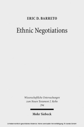 Ethnic Negotiations