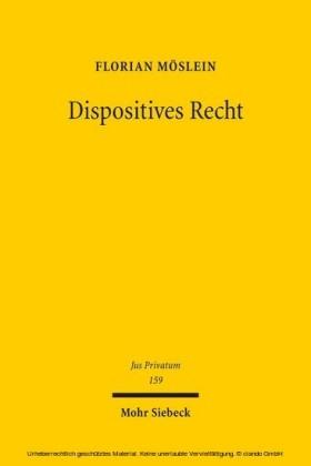 Dispositives Recht