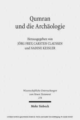 Qumran und die Archäologie