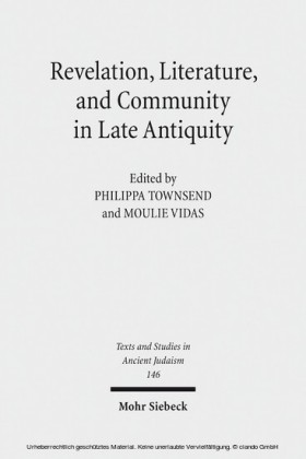 Revelation, Literature, and Community in Late Antiquity