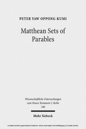 Matthean Sets of Parables
