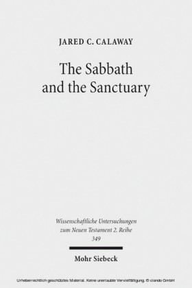 The Sabbath and the Sanctuary