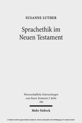 Sprachethik im Neuen Testament
