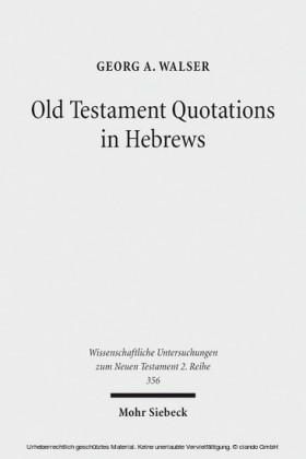 Old Testament Quotations in Hebrews