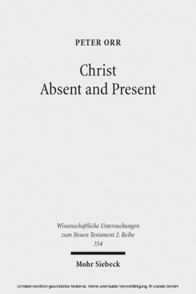 Christ Absent and Present