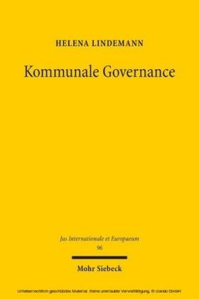 Kommunale Governance
