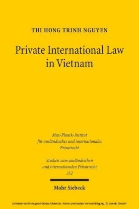 Private International Law in Vietnam