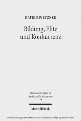 Bildung, Elite und Konkurrenz