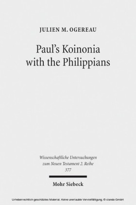 Paul's Koinonia with the Philippians