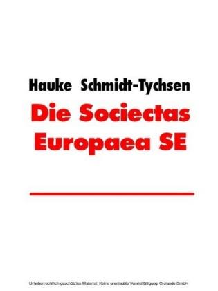 Die Sociectas Europaea SE