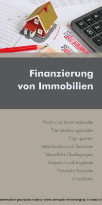 Finanzierung von Immobilien (Ausgabe Österreich)
