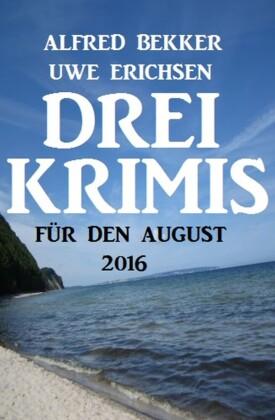 Drei Krimis für den August 2016