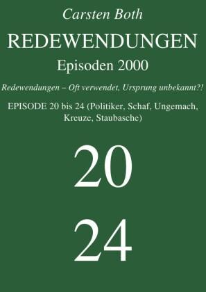 Redewendungen: Episoden 2000