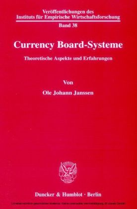 Currency Board-Systeme.