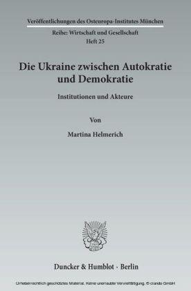 Die Ukraine zwischen Autokratie und Demokratie.