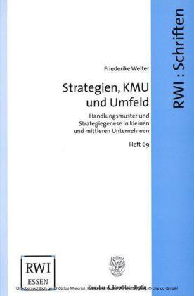 Strategien, KMU und Umfeld.